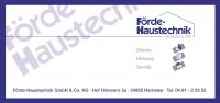 Förde-Haustechnik GmbH & Co KG
